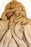 Scultura della sabbia Immagini Stock Libere da Diritti