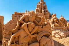 Scultura della sabbia a Frankston 10 Fotografia Stock
