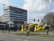 Scultura della via a Eindhoven 0634 Fotografia Stock