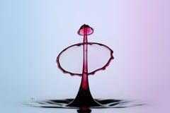 Scultura delle gocce di acqua Fotografia Stock Libera da Diritti