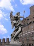 Scultura di angelo Fotografia Stock Libera da Diritti
