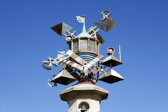 Scultura di arte della torre del faro, Swansea, Galles del sud, Regno Unito Fotografia Stock