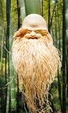 Scultura di bambù della radice Immagini Stock Libere da Diritti