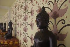 Scultura di buddismo fotografia stock