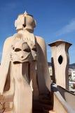 Scultura di Gaudi Fotografia Stock Libera da Diritti