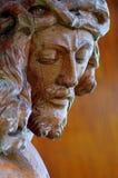 Scultura di Gesù Cristo Fotografie Stock