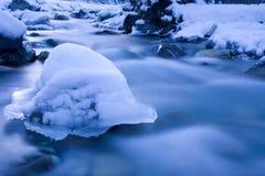 Scultura di ghiaccio fotografie stock