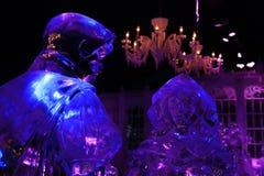 Scultura di ghiaccio Bruges 2013 - 01 Immagine Stock Libera da Diritti