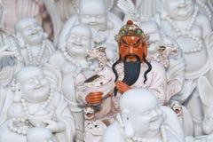 Scultura di Guang Yu al mercato di Panjiayuan, Pechino, Cina Fotografia Stock Libera da Diritti