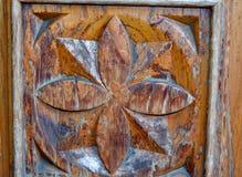 Scultura di legno Fotografia Stock