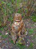 Scultura di legno del Buddha Fotografia Stock Libera da Diritti