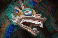 Scultura di legno nel tempio Bulguksa Fotografia Stock