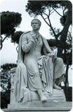 Scultura di Lord Byron fotografie stock