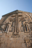 Scultura di pietra. Chiesa di Ananuri. Georgia Fotografia Stock Libera da Diritti