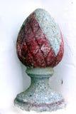 Scultura di pietra dell'uovo Fotografia Stock Libera da Diritti