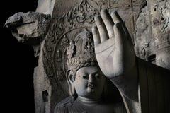 Scultura di pietra di Yungang 13 Fotografia Stock Libera da Diritti