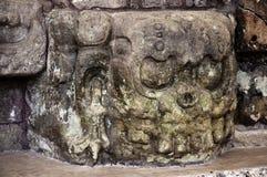 Scultura di pietra maya, ¡ n di Copà Fotografia Stock Libera da Diritti