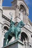 Scultura di Sacre Coeur immagini stock libere da diritti