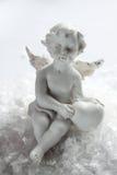 Scultura di un angelo Fotografia Stock