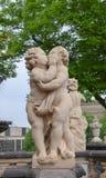 Scultura, Dresda, Germania Immagine Stock Libera da Diritti