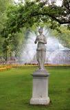 Scultura e fontana fotografia stock libera da diritti