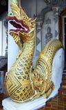 Scultura ed architettura tailandesi di Buddha immagini stock