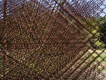 Scultura geometrica del metallo Immagini Stock