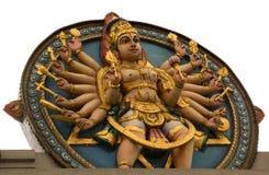 Scultura indù tradizionale Fotografia Stock Libera da Diritti