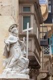 Scultura a La Valletta malta Fotografia Stock