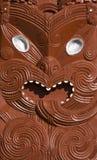 Scultura maori Immagine Stock