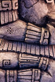 Scultura maya Fotografie Stock Libere da Diritti