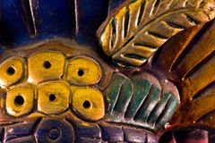 Scultura maya Immagine Stock Libera da Diritti