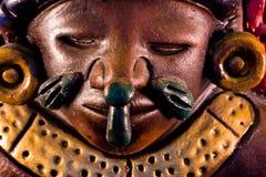 Scultura maya Fotografia Stock
