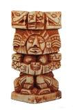 Scultura Mayan antica Fotografie Stock Libere da Diritti