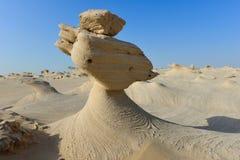 Scultura naturale della sabbia Fotografie Stock