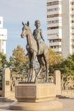 Scultura nel monumento di indipendenza del Kazakistan Almaty, Fotografia Stock Libera da Diritti