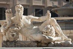 Scultura romana antica Fotografia Stock Libera da Diritti