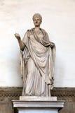 Scultura romana antica di un Virgin di Vestal fotografie stock libere da diritti