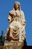 Scultura romana, donna Immagini Stock