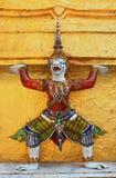Scultura tailandese Fotografia Stock