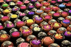 Scultura tailandese del fiore del sapone Immagini Stock Libere da Diritti