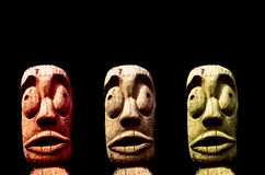 Scultura tribale Fotografia Stock