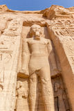 Sculture Abu Simbel Royalty Free Stock Photography
