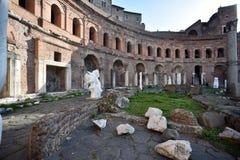 Sculture ai Mercati Di Traiano royalty-vrije stock fotografie