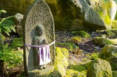 Sculture buddisti Fotografia Stock Libera da Diritti