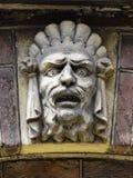 Sculture de Front Door d'entrée de maison urbaine Photo stock