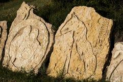 Sculture de piedra Fotografía de archivo