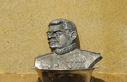 Sculture de Stalin Imagenes de archivo