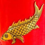 Sculture dei pesci di tailandese. Fotografie Stock Libere da Diritti