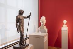 Sculture del busto nel museo Berlino di Altes Fotografia Stock